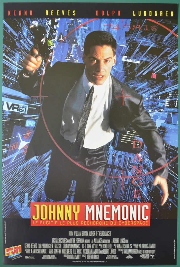 Johnny Mnemonic <p><i> (Original Belgian Movie Poster) </i></p>