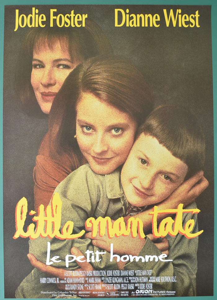 Little Man Tate <p><i> (Original Belgian Movie Poster) </i></p>