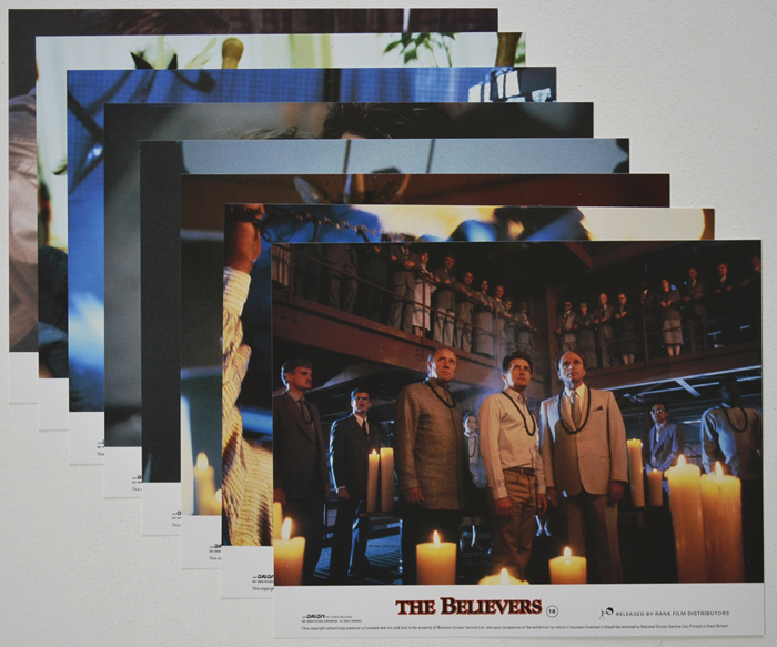 Believers (The) <p><a> Set of 8 Original Colour Front Of House Stills / Lobby Cards </i></p>