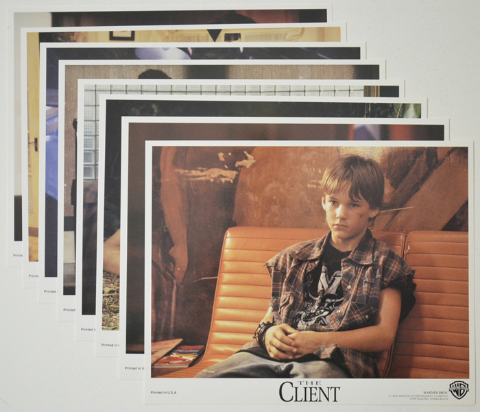 Client (The) <p><a> Set of 8 Original Colour Front Of House Stills / Lobby Cards </i></p>
