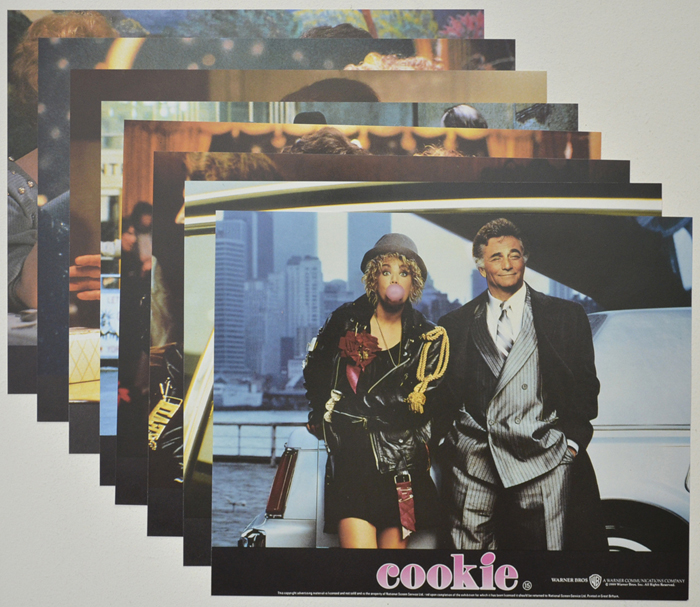 Cookie <p><a> Set of 8 Original Colour Front Of House Stills / Lobby Cards  </i></p>