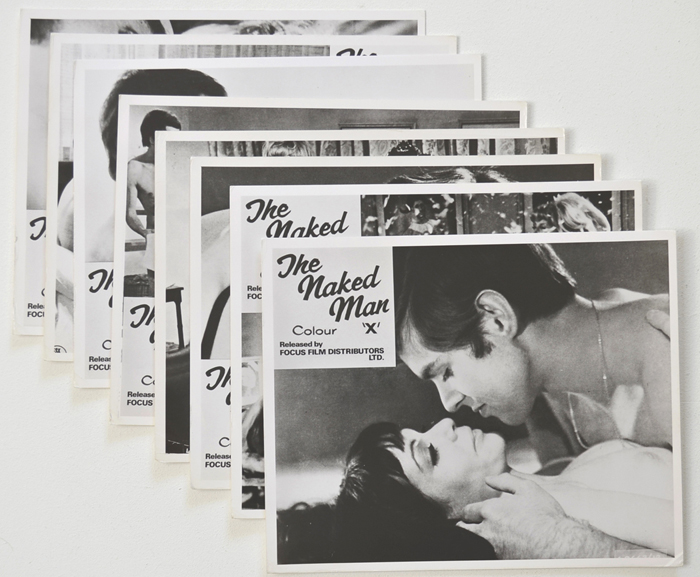 Naked Man (The) <p><a> Set of 8 Original Front Of House Stills / Lobby Cards </i></p>
