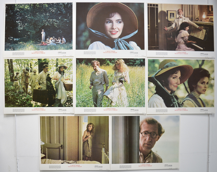 A Midsummer Night's Sex Comedy <p><a> Set Of 8 Cinema Lobby Cards </i></p>