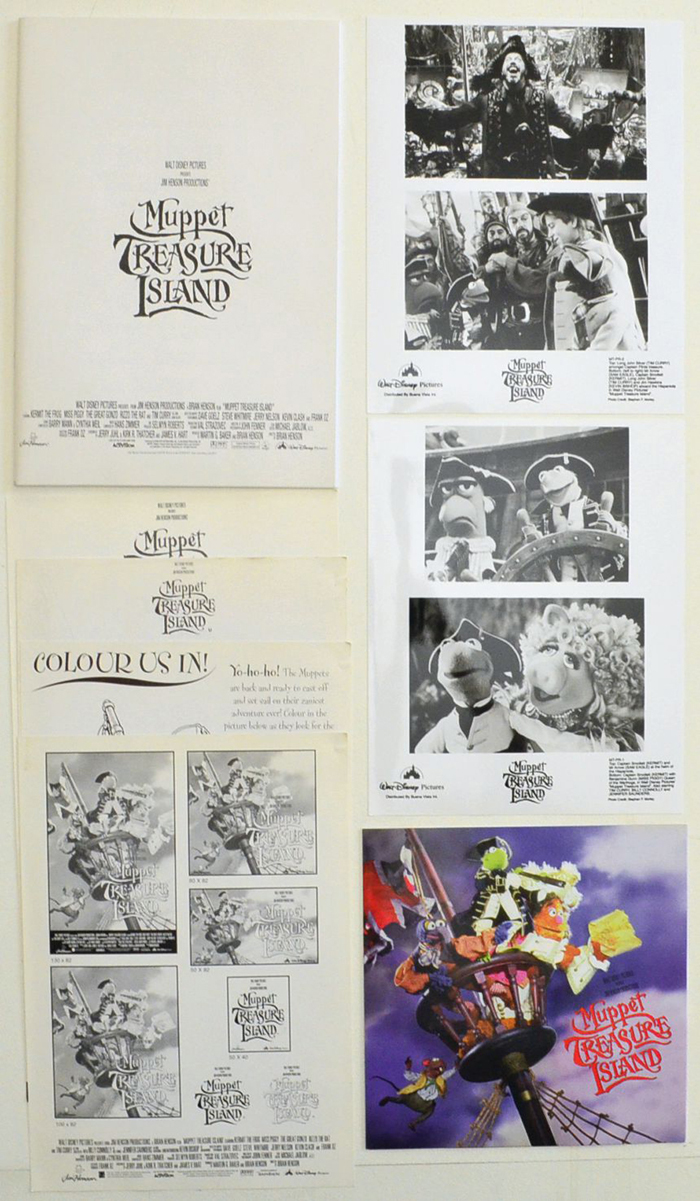 Muppet Treasure Island <p><i> Original Press Kit with 2 Black & White Stills </i></p>