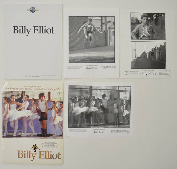 Billy Elliot <p><i> Original Press Kit with 3 Black & White Stills </i></p>