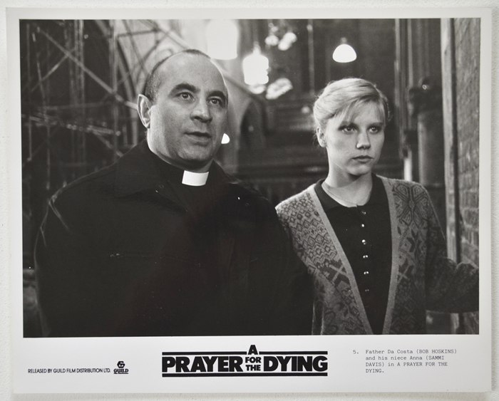 A Prayer For The Dying <p><a> Original Black And White Press Still </i></p>