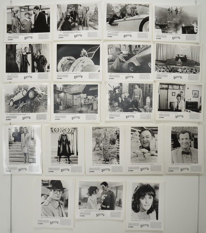 Superman IV : The Quest For Peace <p><a> 20 Original Black And White Press Stills </i></p>