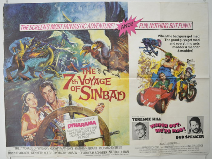 7th Voyage Of Sinbad / Watch Out, We're Mad! <p><i> (Double Bill) </i></p>