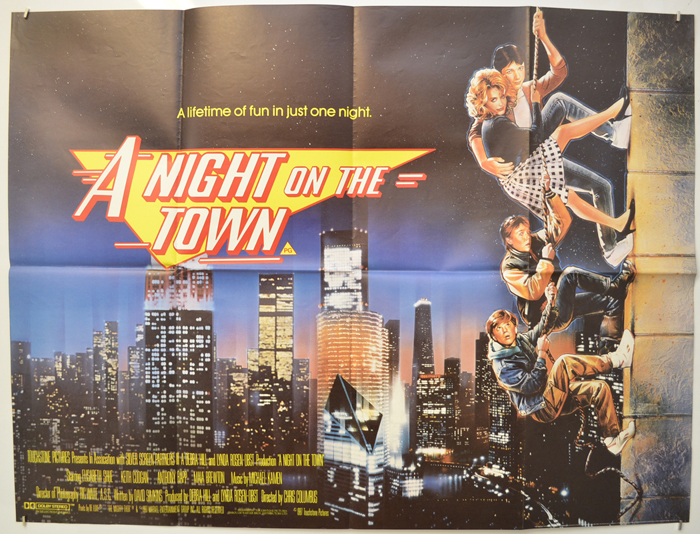 A Night On The Town <p><i> (a.k.a. Adventures in Babysitting) </i></p>