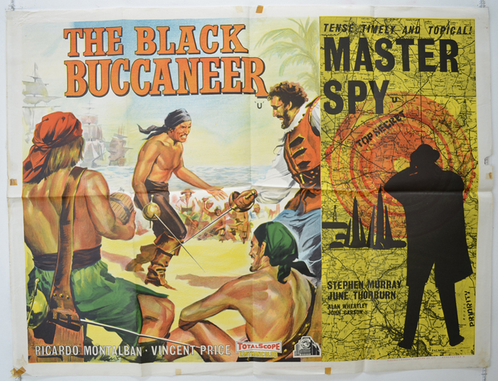 Black Buccaneer / Master Spy <p><i> (Double Bill) </i></p>