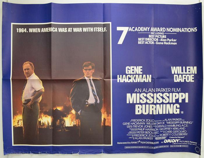 Mississippi burning poster