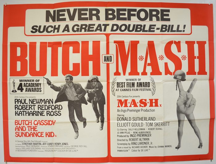 Butch Cassidy And The Sundance Kid / MASH