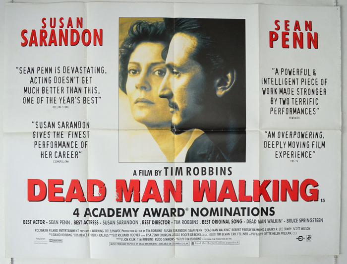 A description of the film dead man walking directed by tim robbins