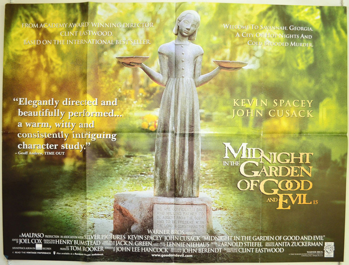 Midnight In The Garden Of Good And Evil Original Cinema Movie Poster From