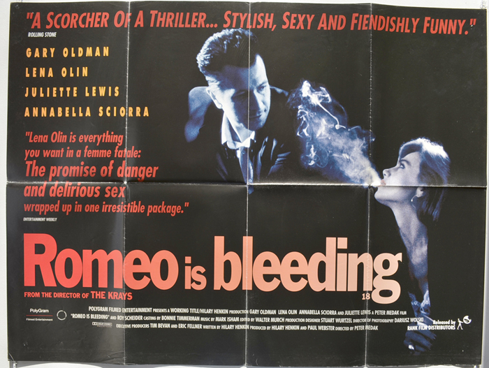 Romeo Is Bleeding - Original Cinema Movie Poster From ...