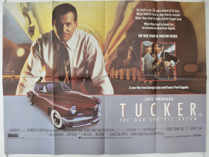 an analysis of the movie plot tucker the man and his dream