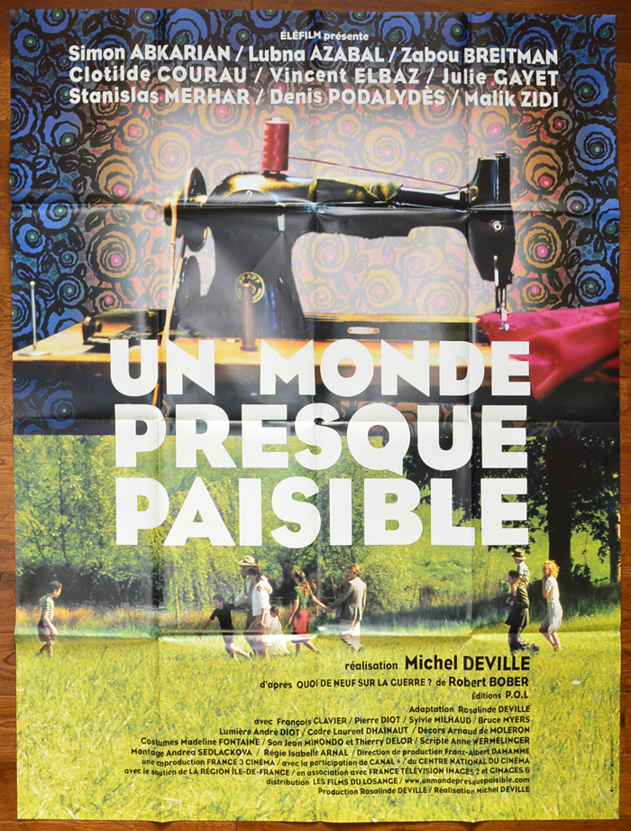 n Monde Presque Paisible <p><i> (UK Bus Stop Poster) </i></p>