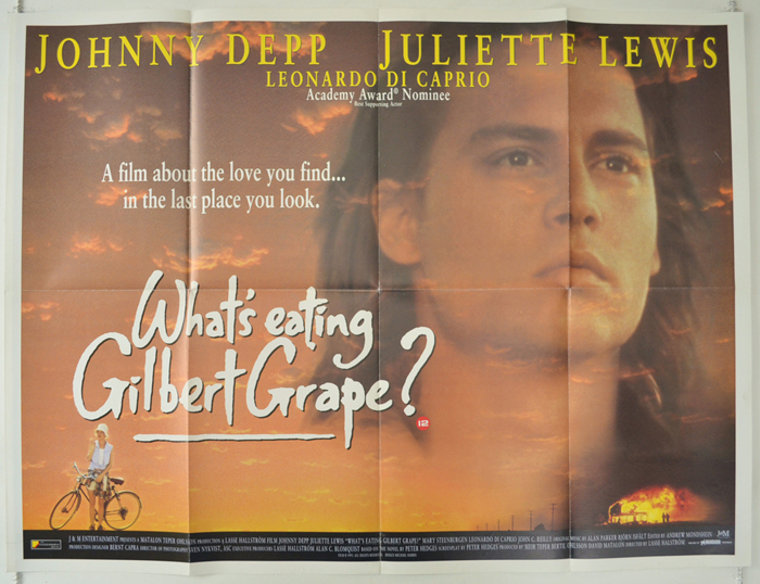 gilbert grape essay Whats eating gilbert grape word count: 737 approx pages: 3 save essay access to over 100,000 complete essays and term papers fully built bibliographies and works cited.