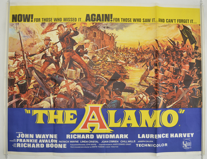 Alamo (The) <p><i> (1967 re-release Poster) </i></p>