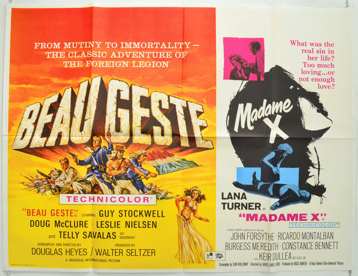 Beau Geste / Madame X <p><i> (Double Bill) </i></p>