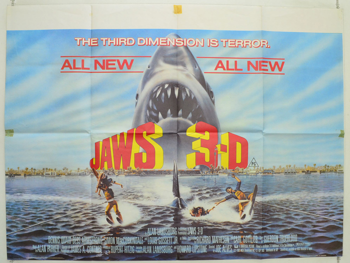 Jaws 3 Poster | www.pixshark.com - Images Galleries With A ...