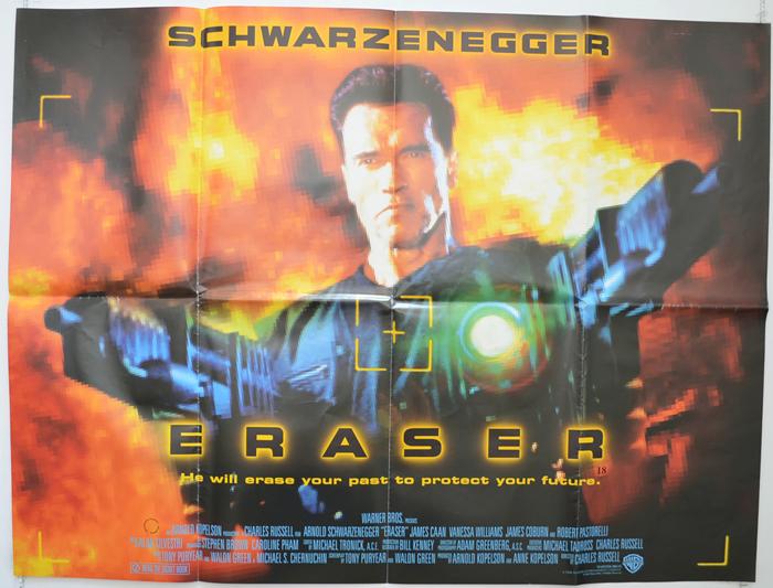 eraser original cinema movie poster from pastposterscom