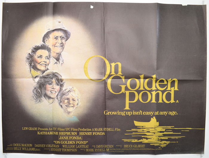 movie on golden pond Overview of on golden pond, 1981, directed by mark rydell, with henry fonda, katharine hepburn, jane fonda, at turner classic movies.