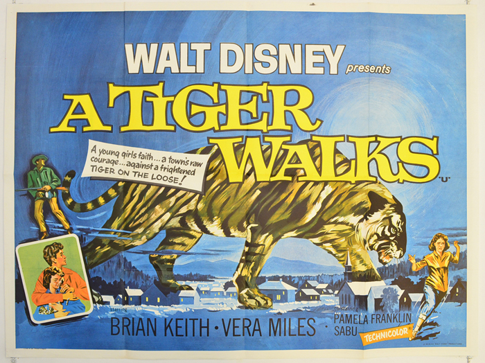 A Tiger Walks Full Movie Online