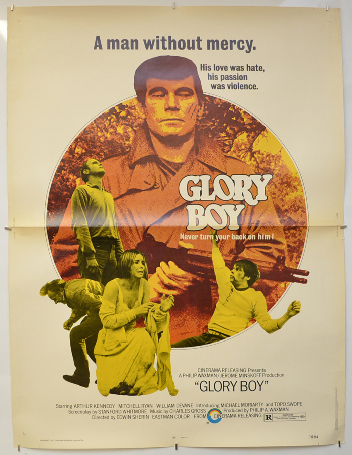 Glory Boy <p><i> (USA Drive-IN Poster) </i></p>