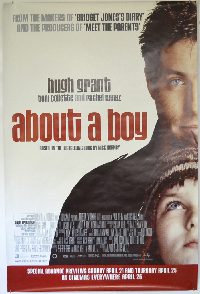 About A Boy <p><i> (British 4 Sheet Poster) </i></p>