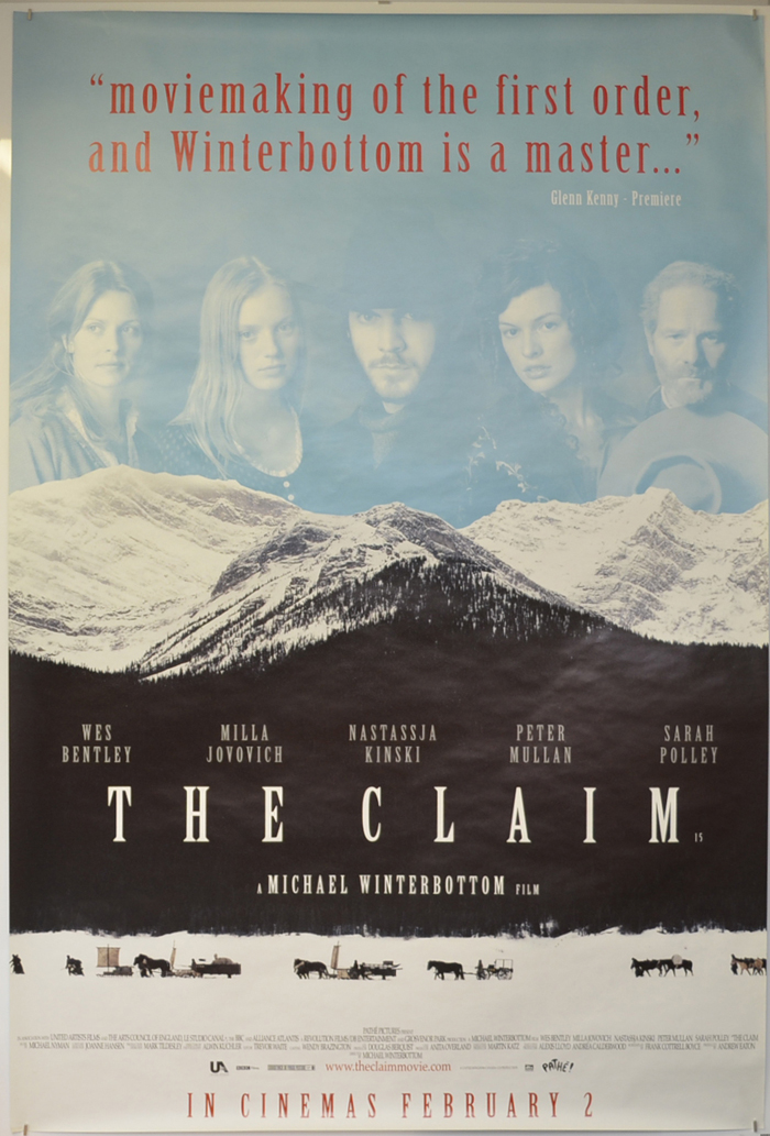 Claim (The) <p><i> (British 4 Sheet Poster) </i></p>