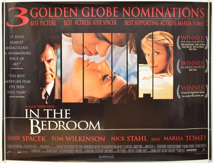 IN THE BEDROOM (2002) Original Quad Movie Poster