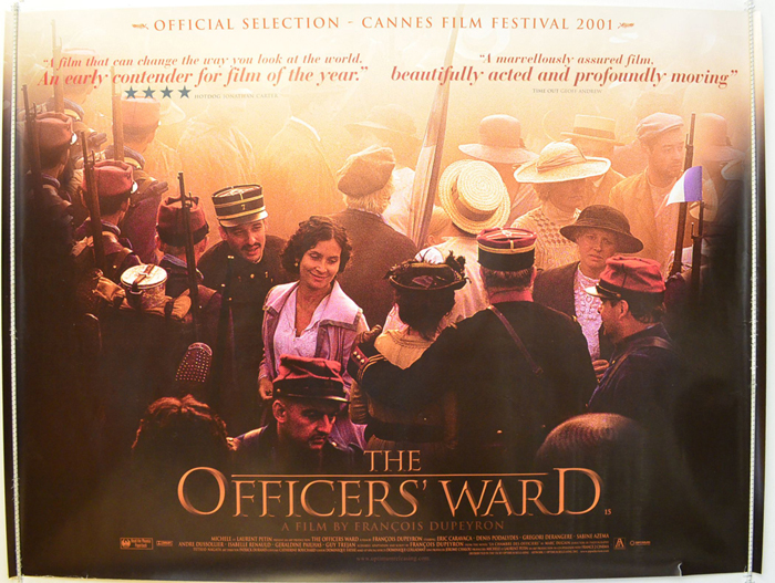 officer 39 s ward the a k a la chambre des officiers original cinema movie poster from. Black Bedroom Furniture Sets. Home Design Ideas