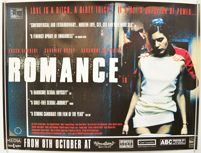 Movie Posters 1999: ROMANCE (1999) Original Quad Movie Poster