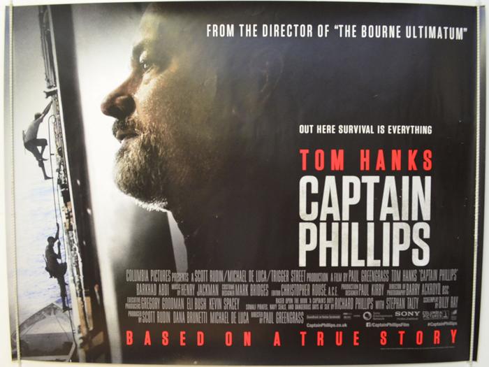 captain phillips original cinema movie poster from