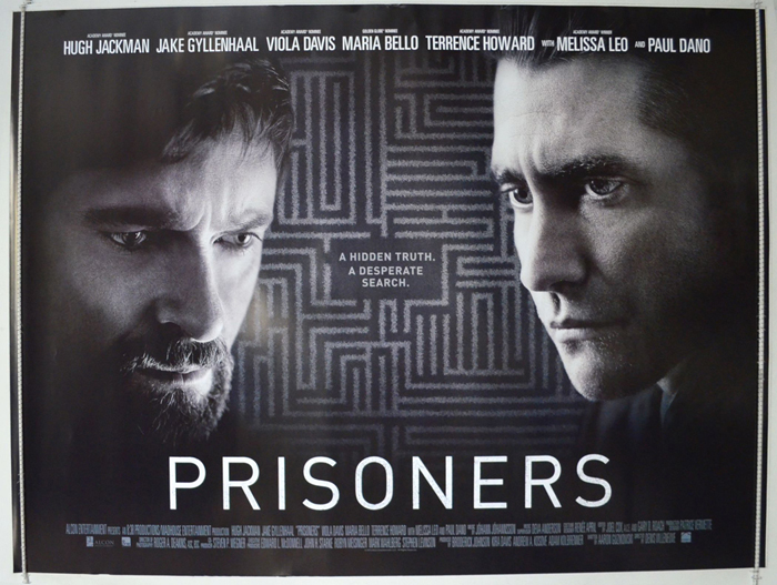 Prisoners - Original Cinema Movie Poster From pastposters ...
