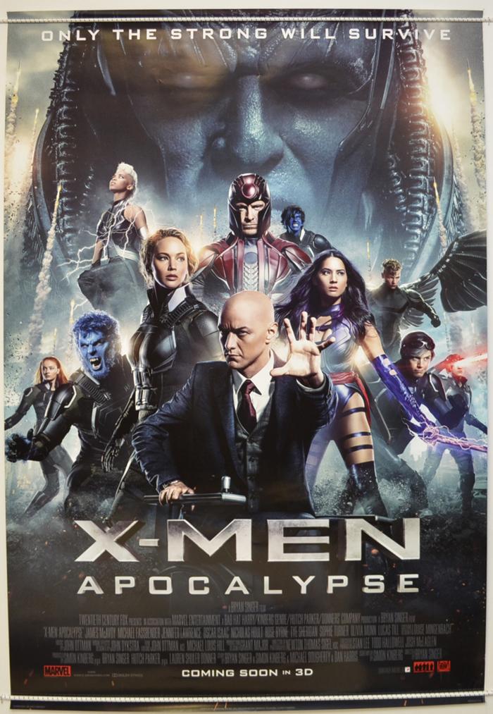 X-Men : Apocalypse - Original Cinema Movie Poster From ... | 700 x 1013 jpeg 578kB