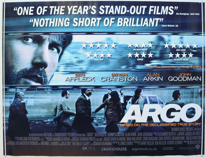 Argo - Original Cinema Movie Poster From pastposters.com ...