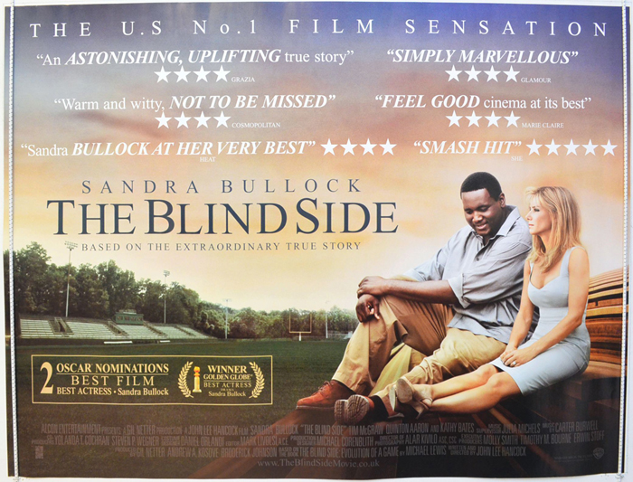 Blind Side (The) - Original Cinema Movie Poster From ...