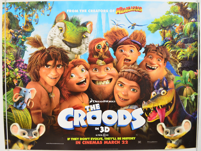 The Croods Toys R Us : Croods the teaser advance version original cinema