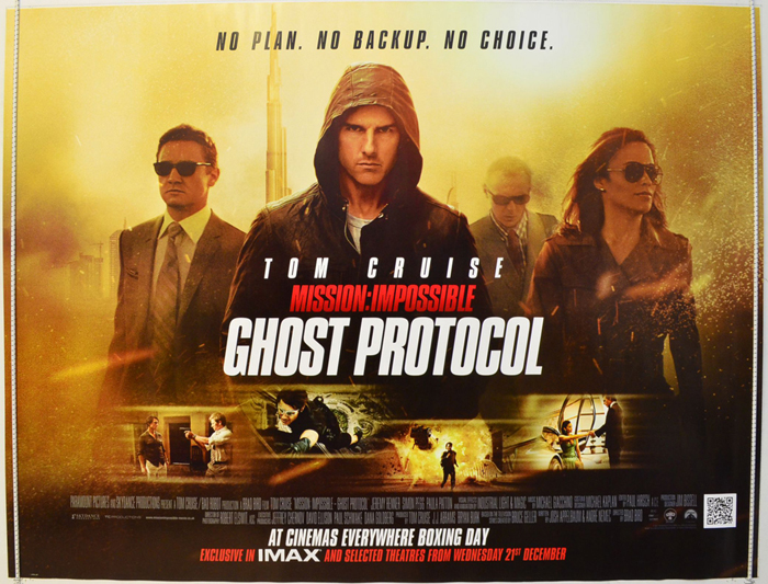 Mission Impossible - Ghost Protocol - Original Cinema ...