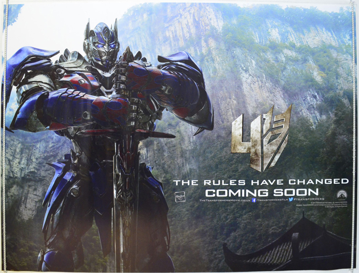 Transformers Age Of Extinction Poster Optimus Prime Transformers : Age Of ...