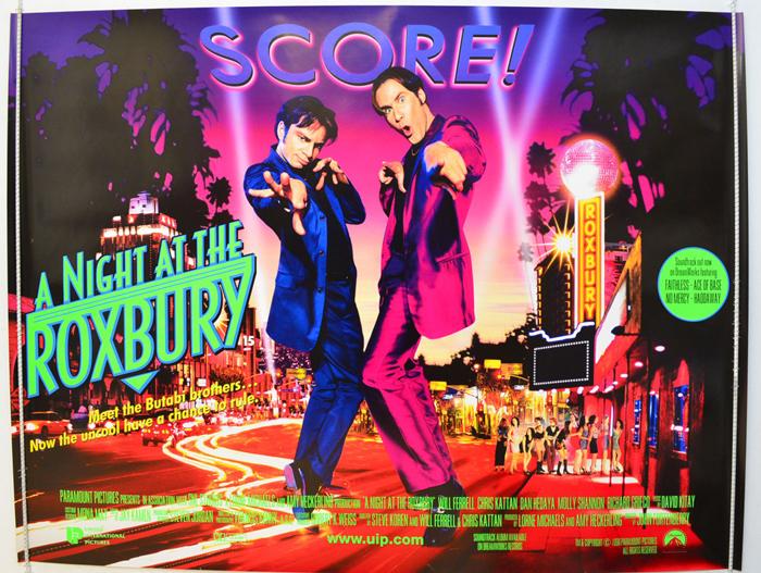 Movie the night at the roxbury