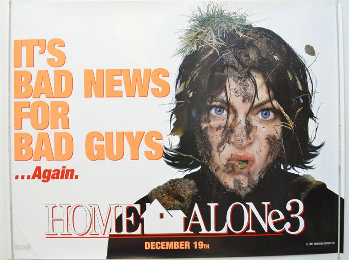 HOME ALONE 3 (1997) Original Quad Film Poster - Alex D ...