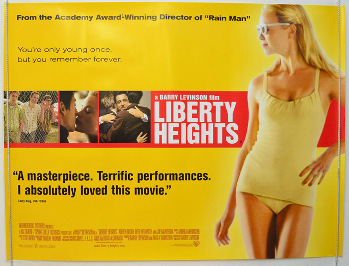 the jewish family in liberty heights a film by barry levinson Watch liberty heights  jazz music jazz singer jew jewish jewish culture jewish family kidnapping kitchen  heights is an excellent film barry levinson has.