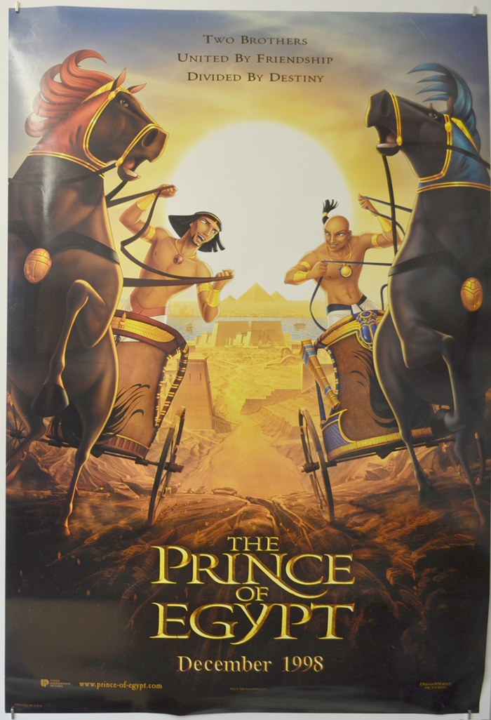 Prince Of Egypt (The) <p><i> (Teaser / Advance Version) </i></p>
