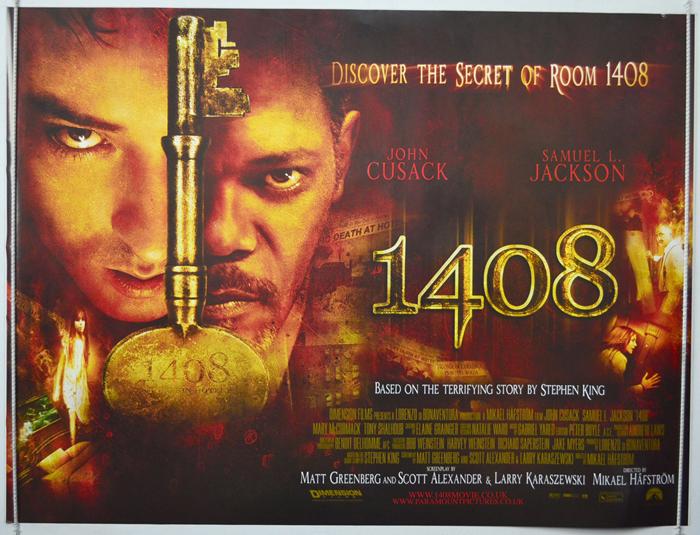 Movie Posters 2007: 1408 (2007) Original Quad Movie Poster