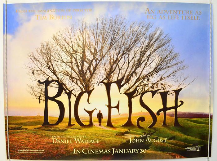 Big fish teaser advance version original cinema for Big fish full movie