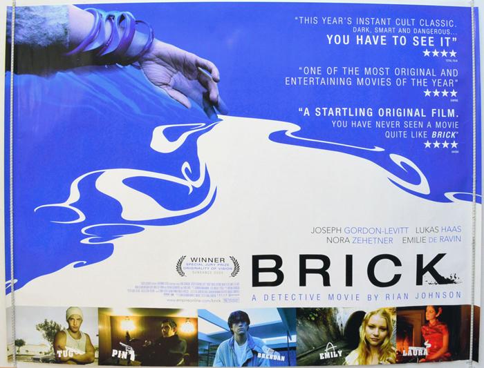 brick original cinema movie poster from pastposterscom
