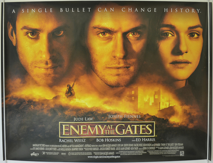 an analysis of enemy at the gates a world war two themed movie